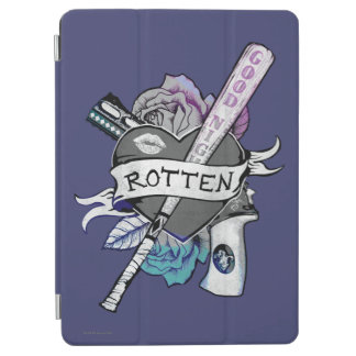 "Suicide Squad | Harley Quinn ""Rotten"" Tattoo Art iPad Air Cover"