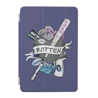 "Suicide Squad | Harley Quinn ""Rotten"" Tattoo Art iPad Mini Cover"