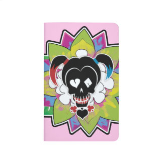 Suicide Squad | Harley Quinn Skull Tattoo Art Journal
