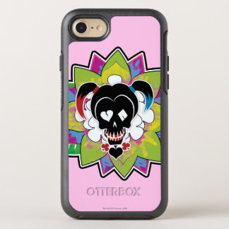 Suicide Squad | Harley Quinn Skull Tattoo Art OtterBox Symmetry iPhone 8/7 Case