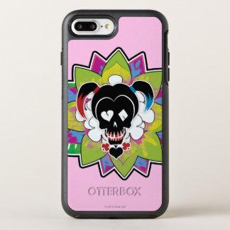 Suicide Squad | Harley Quinn Skull Tattoo Art OtterBox Symmetry iPhone 8 Plus/7 Plus Case