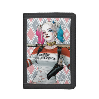 Suicide Squad | Harley Quinn Tri-fold Wallets
