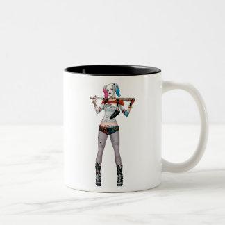Suicide Squad | Harley Quinn Two-Tone Coffee Mug