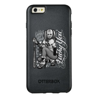 Suicide Squad | Harley Quinn Typography Photo OtterBox iPhone 6/6s Plus Case