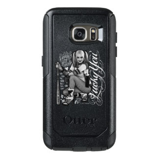 Suicide Squad | Harley Quinn Typography Photo OtterBox Samsung Galaxy S7 Case