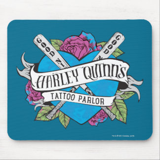 Suicide Squad | Harley Quinn's Tattoo Parlor Heart Mouse Pad