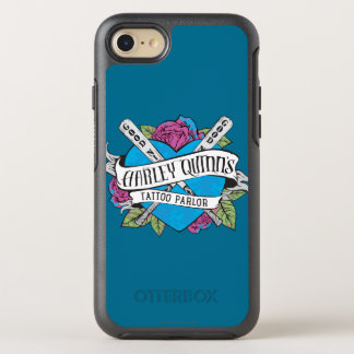 Suicide Squad | Harley Quinn's Tattoo Parlor Heart OtterBox Symmetry iPhone 8/7 Case