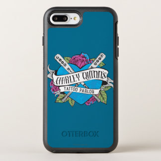 Suicide Squad | Harley Quinn's Tattoo Parlor Heart OtterBox Symmetry iPhone 8 Plus/7 Plus Case