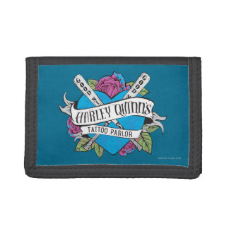 Suicide Squad | Harley Quinn's Tattoo Parlor Heart Tri-fold Wallet
