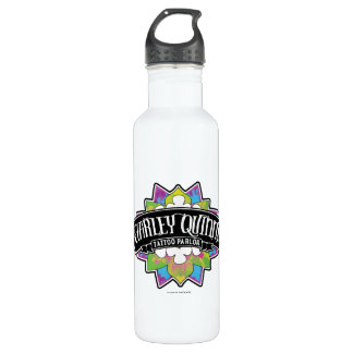 Suicide Squad | Harley Quinn's Tattoo Parlor Lotus 710 Ml Water Bottle