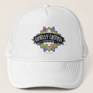 Suicide Squad | Harley Quinn's Tattoo Parlor Lotus Trucker Hat