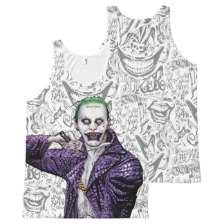 Suicide Squad | Joker All-Over Print Tank Top