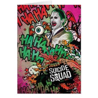 Suicide Squad | Joker Character Graffiti Card