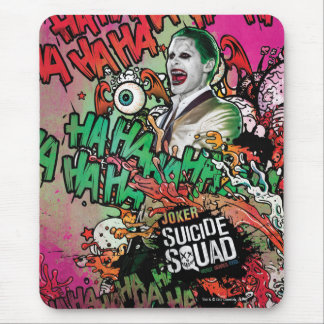 Suicide Squad | Joker Character Graffiti Mouse Pad