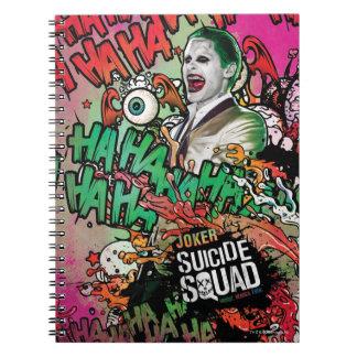 Suicide Squad   Joker Character Graffiti Note Books