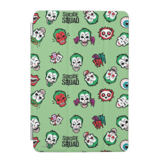 Suicide Squad | Joker Emoji Pattern iPad Mini Cover