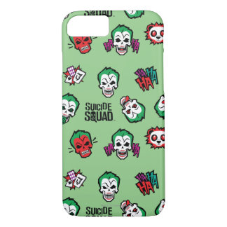 Suicide Squad | Joker Emoji Pattern iPhone 8/7 Case