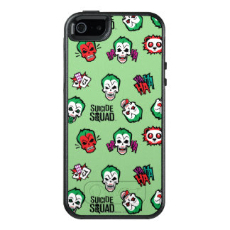 Suicide Squad | Joker Emoji Pattern OtterBox iPhone 5/5s/SE Case