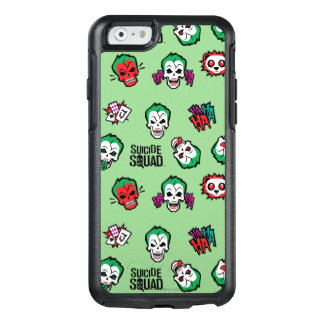 Suicide Squad | Joker Emoji Pattern OtterBox iPhone 6/6s Case