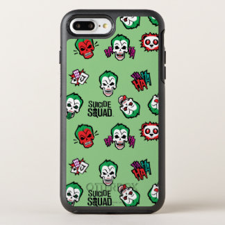 Suicide Squad | Joker Emoji Pattern OtterBox Symmetry iPhone 8 Plus/7 Plus Case