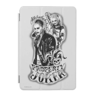 Suicide Squad | Joker & Harley Airbrush Tattoo iPad Mini Cover