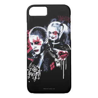 Suicide Squad | Joker & Harley Painted Graffiti iPhone 8/7 Case