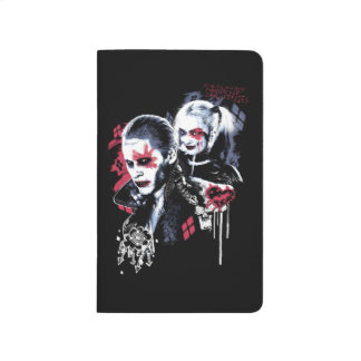 Suicide Squad | Joker & Harley Painted Graffiti Journal