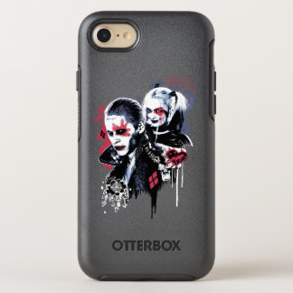 Suicide Squad | Joker & Harley Painted Graffiti OtterBox Symmetry iPhone 8/7 Case