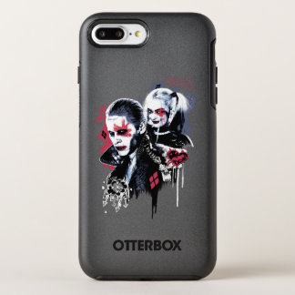 Suicide Squad | Joker & Harley Painted Graffiti OtterBox Symmetry iPhone 8 Plus/7 Plus Case