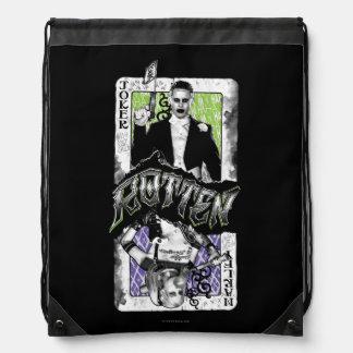 Suicide Squad | Joker & Harley Rotten Drawstring Bag