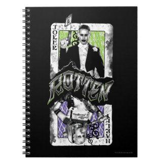 Suicide Squad | Joker & Harley Rotten Notebooks