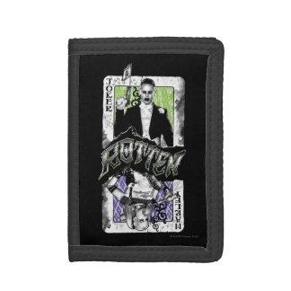Suicide Squad | Joker & Harley Rotten Tri-fold Wallet