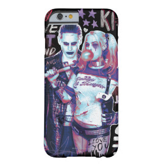 Suicide Squad | Joker & Harley Typography Photo Barely There iPhone 6 Case