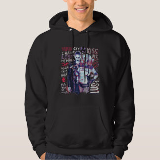 Suicide Squad | Joker & Harley Typography Photo Hoodie