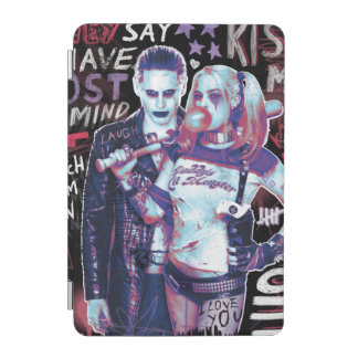 Suicide Squad | Joker & Harley Typography Photo iPad Mini Cover