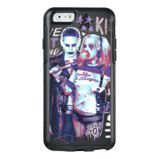 Suicide Squad | Joker & Harley Typography Photo OtterBox iPhone 6/6s Case