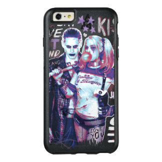 Suicide Squad | Joker & Harley Typography Photo OtterBox iPhone 6/6s Plus Case