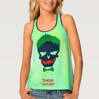 Suicide Squad | Joker Head Icon 2 Tank Top