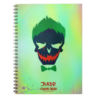 Suicide Squad | Joker Head Icon Notebook