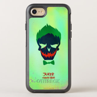 Suicide Squad | Joker Head Icon OtterBox Symmetry iPhone 8/7 Case