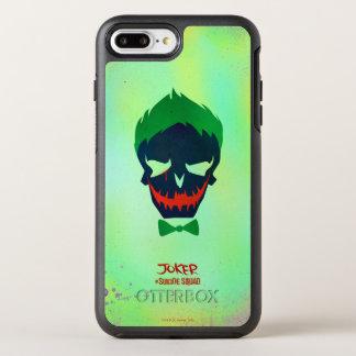 Suicide Squad | Joker Head Icon OtterBox Symmetry iPhone 8 Plus/7 Plus Case