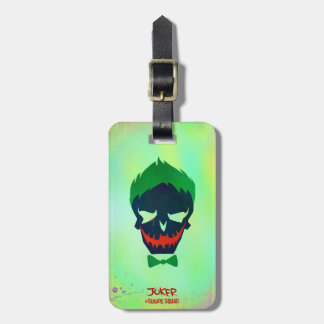 Suicide Squad | Joker Head Icon Tags For Bags