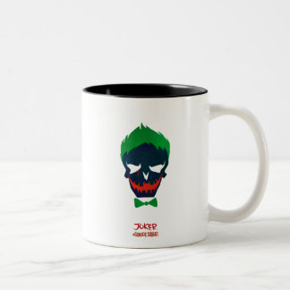 Suicide Squad | Joker Head Icon Two-Tone Coffee Mug