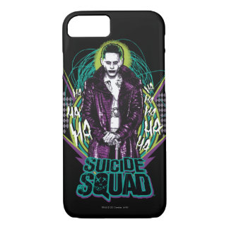 Suicide Squad | Joker Retro Rock Graphic iPhone 8/7 Case