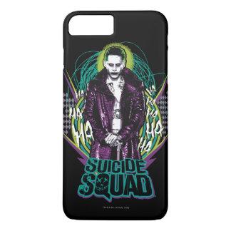 Suicide Squad | Joker Retro Rock Graphic iPhone 8 Plus/7 Plus Case