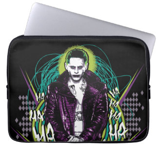 Suicide Squad | Joker Retro Rock Graphic Laptop Sleeve