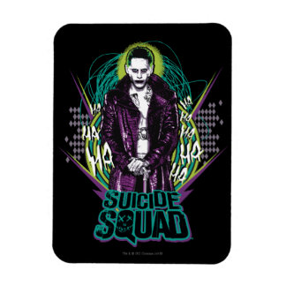 Suicide Squad | Joker Retro Rock Graphic Magnet