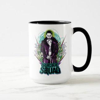 Suicide Squad | Joker Retro Rock Graphic Mug