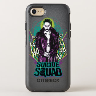 Suicide Squad | Joker Retro Rock Graphic OtterBox Symmetry iPhone 8/7 Case