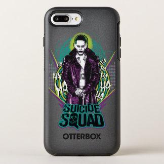 Suicide Squad | Joker Retro Rock Graphic OtterBox Symmetry iPhone 8 Plus/7 Plus Case
